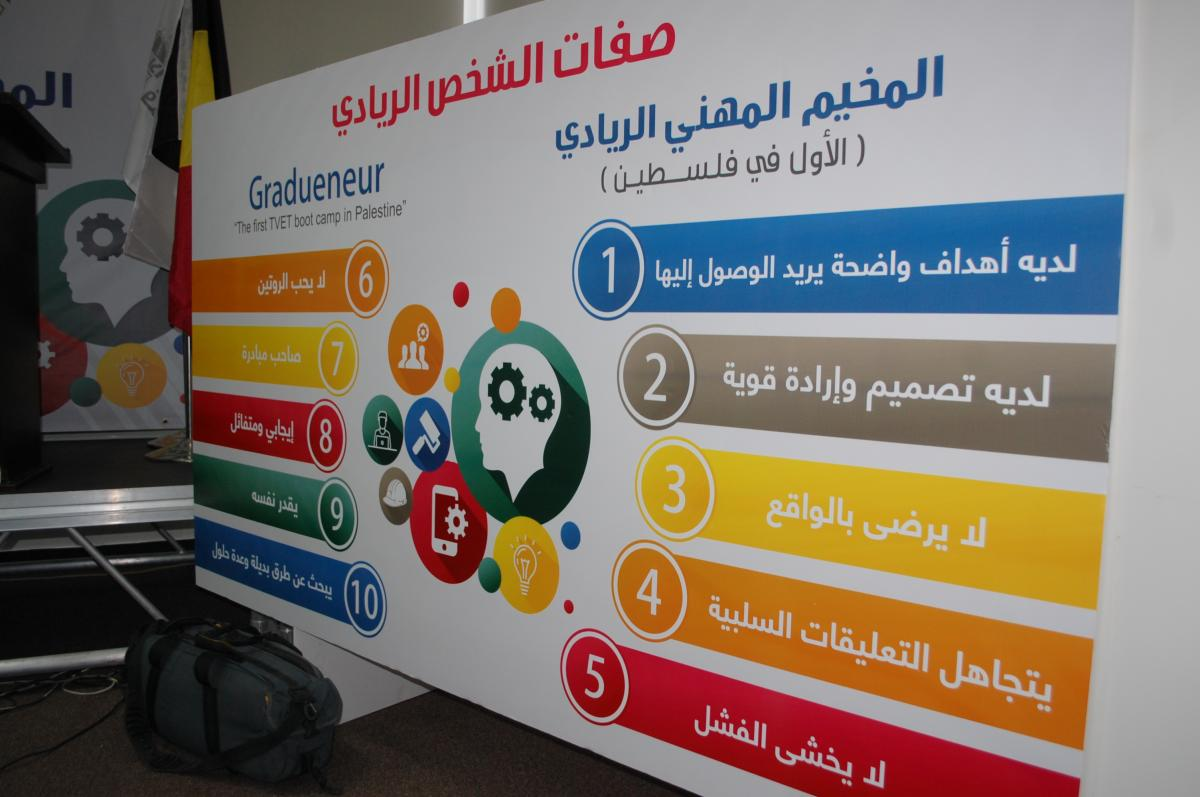 Gradueneur - The first TVET Boot Camp in the Palestinian Territory