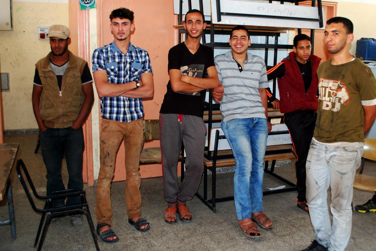 Work Based Learning in Rafah: a success story