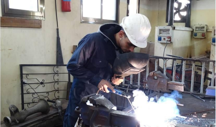 Bilal - a blacksmith in the making
