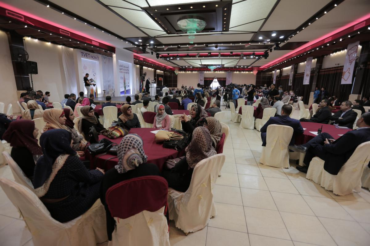 Gaza TVET Institutions Celebrate the 2017 TVET Week