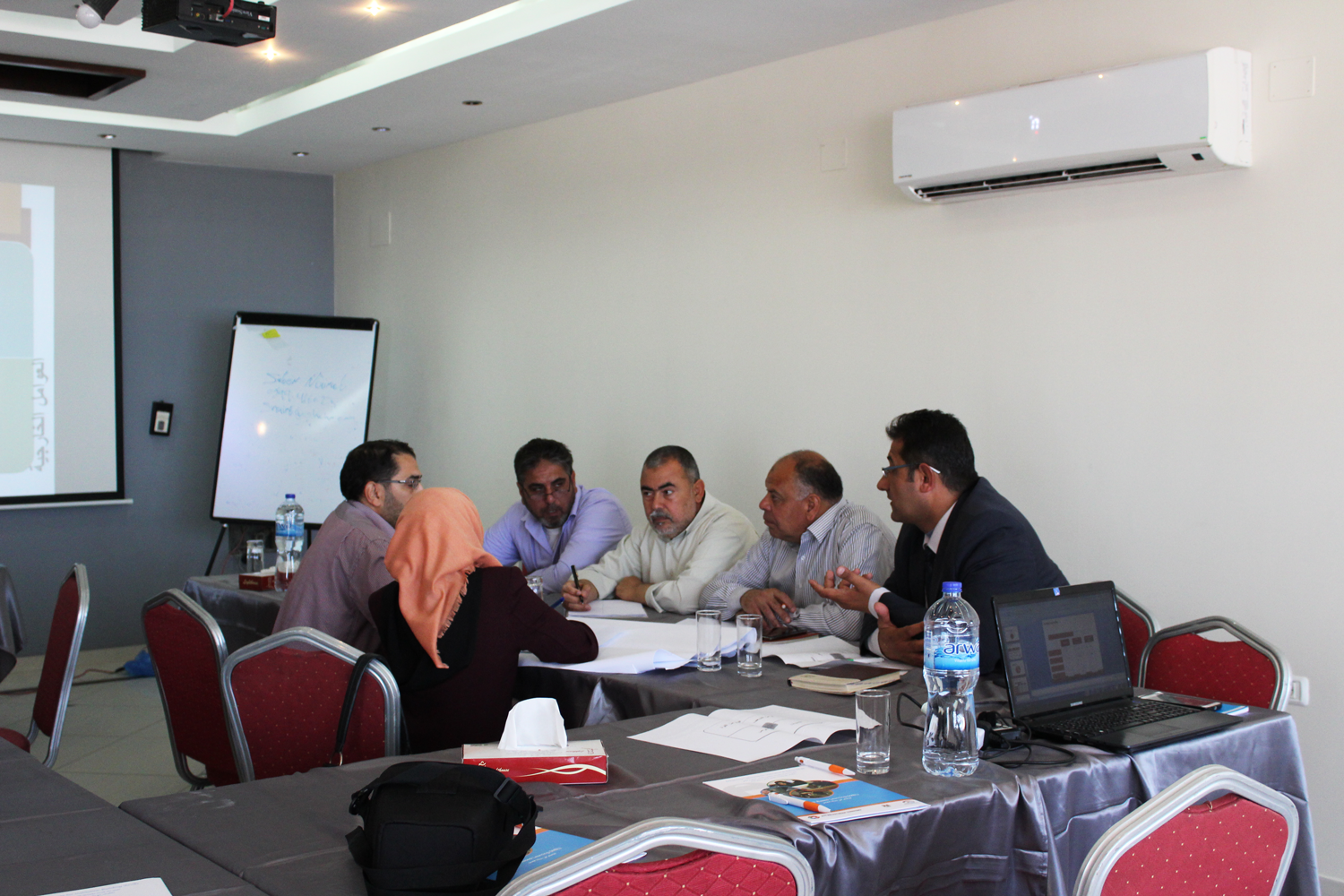 First meeting of the Work-Based Learning (WBL) thematic working group in the Gaza Strip