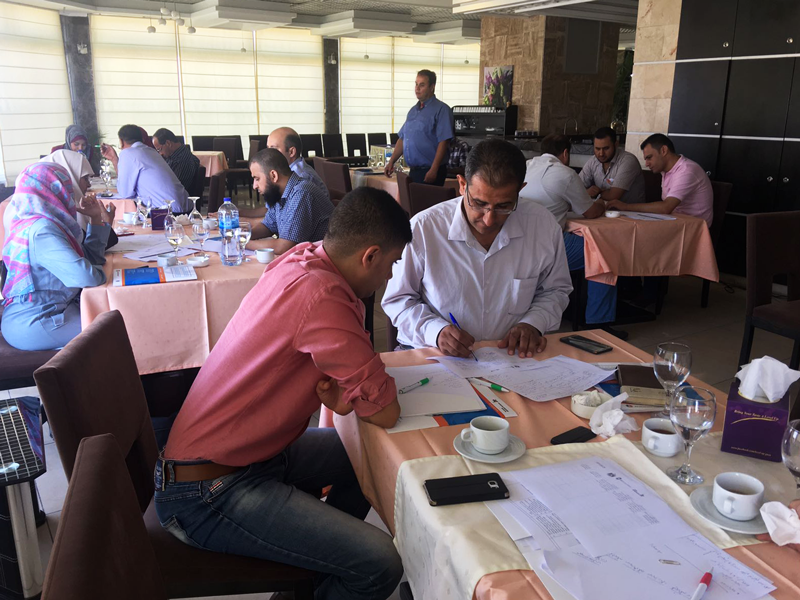 Work-Based Learning (WBL) strategy meeting in Gaza