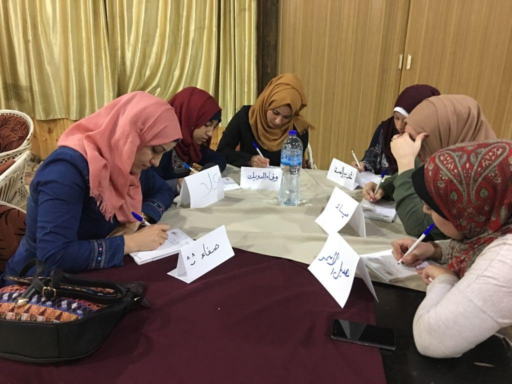 Women Entrepreneurship Training in Gaza