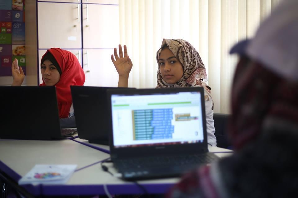 Summer camps are promoting technical and vocation training in Gaza