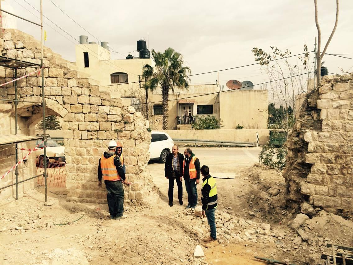 Rehabilitation works started in Bani Zeid, Deir Ghassaneh