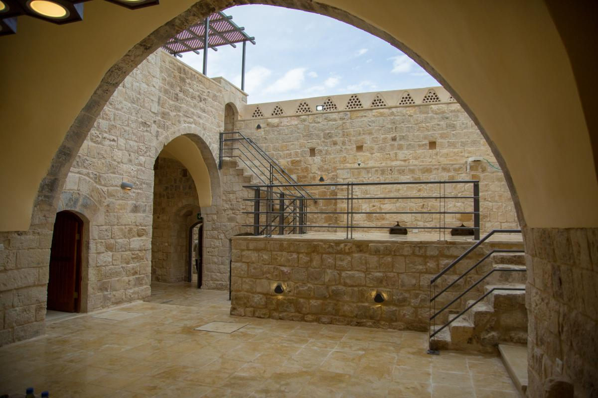 Finishing the rehabilitation of historic buildings in Deir Istiya