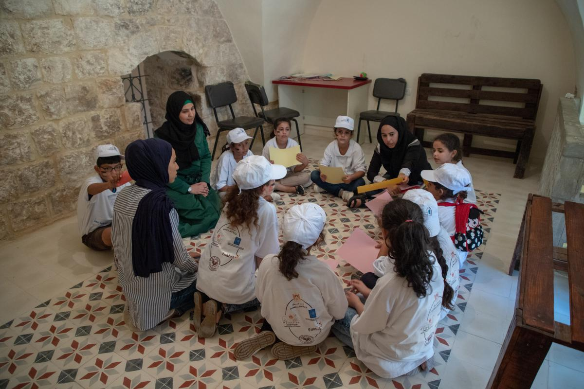 Connecting the new generation with their history in Nilin