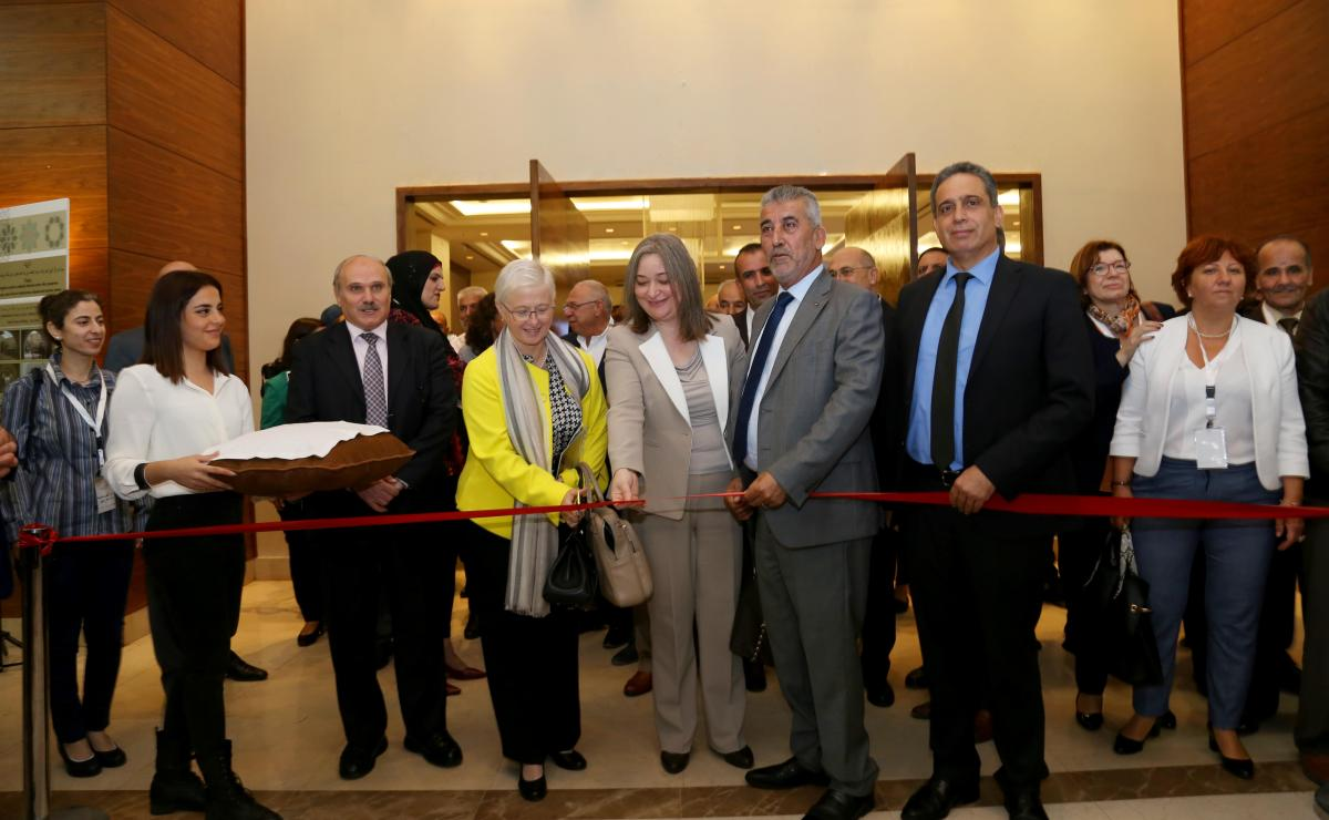 Inauguration of the work of the Palestinian National Forum for the Regeneration of Historic Centers