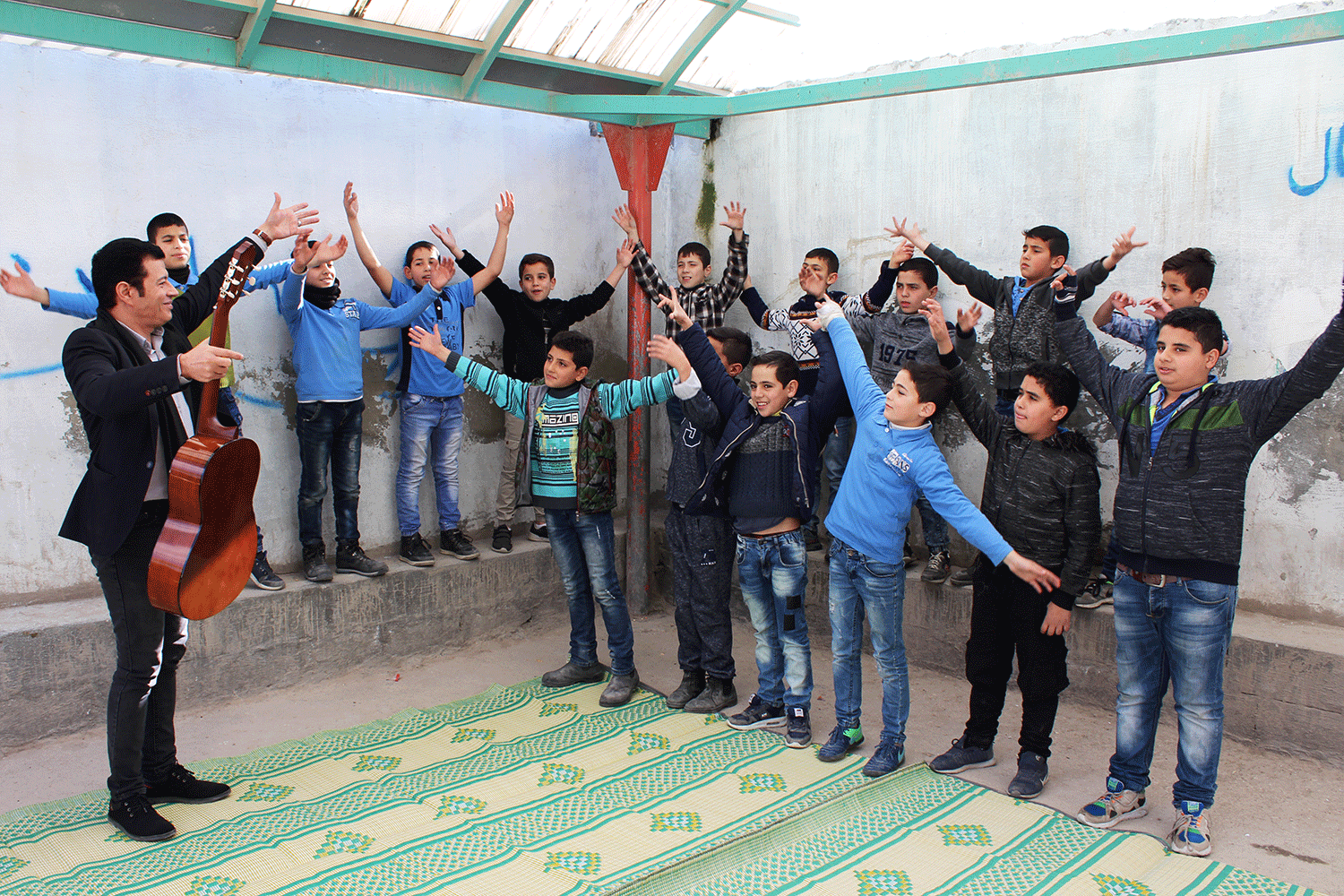 Celebrating the Universal Declaration of Human Rights in Palestinian schools