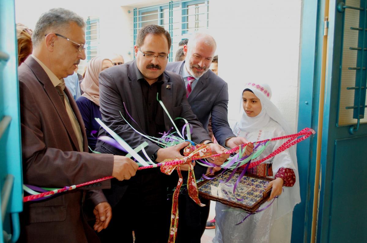 Belgian Consul-General inaugurates Far'oun Secondary Girls school