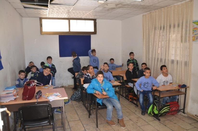 Palestinian education in Jerusalem endangered