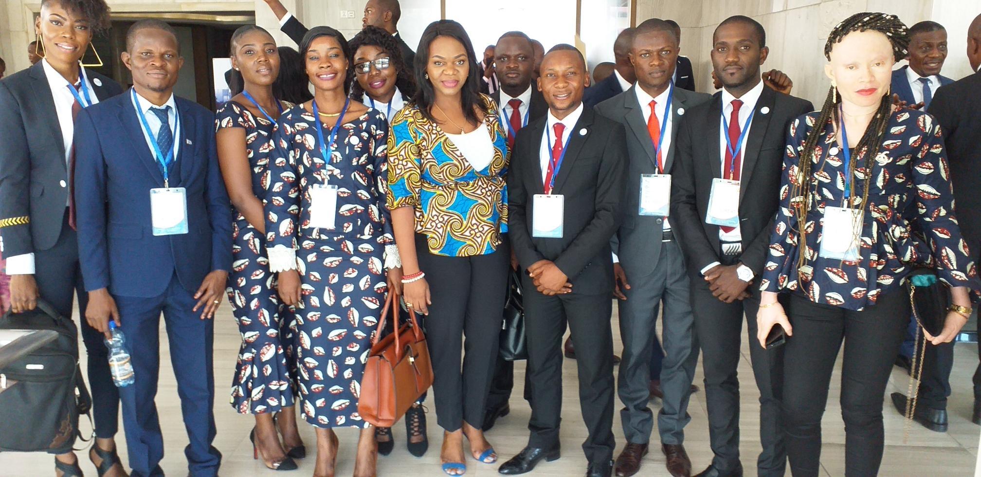 REMISE DE DIPLOMES AUX ENARQUES PROMOTION FLEUVE CONGO