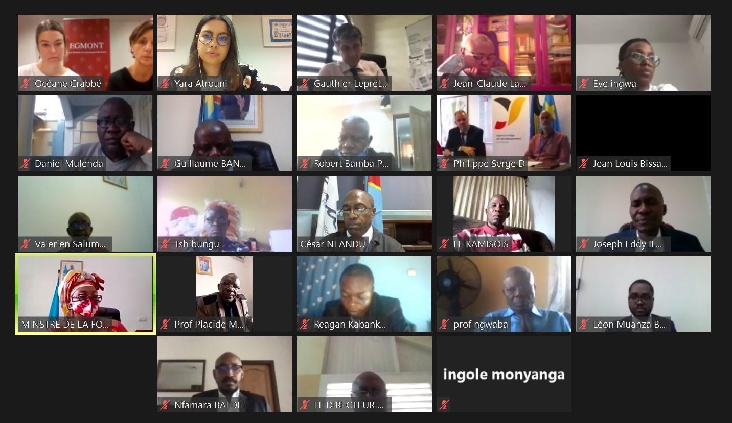 Lancement du processus de transfert des compétences sur la préparation, l'organisation et la gestion de la formation en ligne