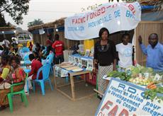 Le PRODADEKK a appuyé l'organisation de la première édition de la Foire Pilote du Développement Rural (FODERU) à Bandundu-ville.