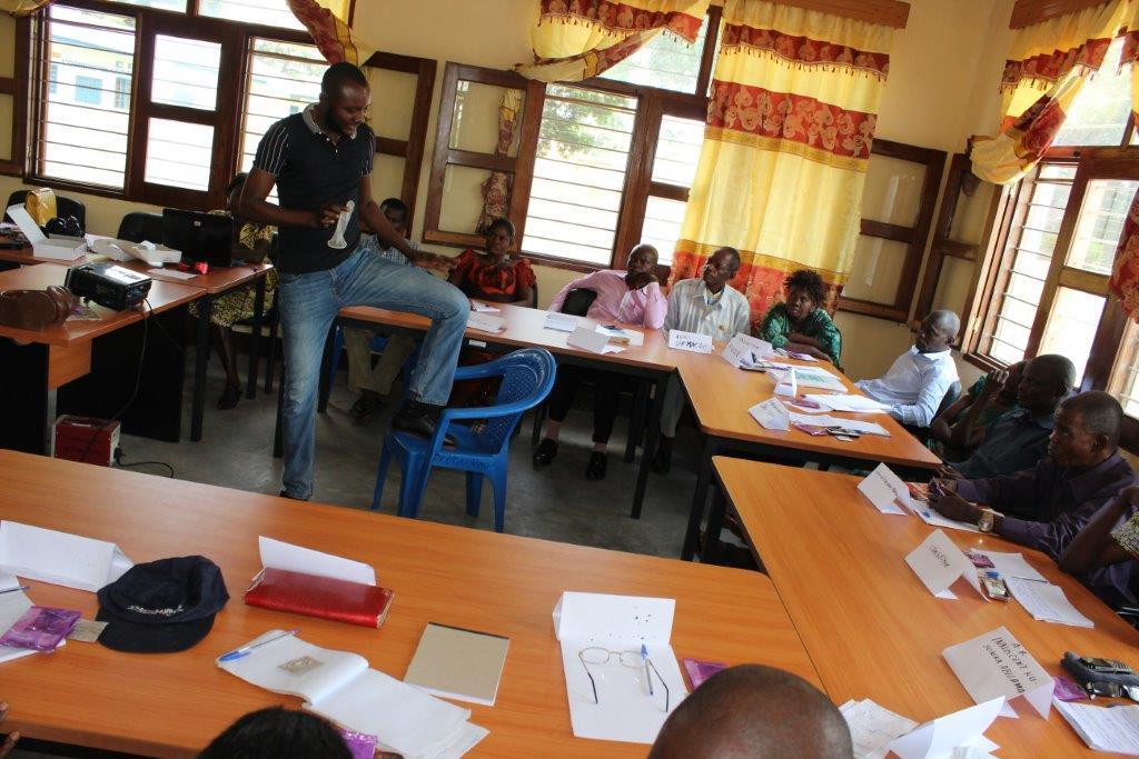 En guerre contre le VIH/sida dans l'administration provinciale du Kwilu et du Kwango.