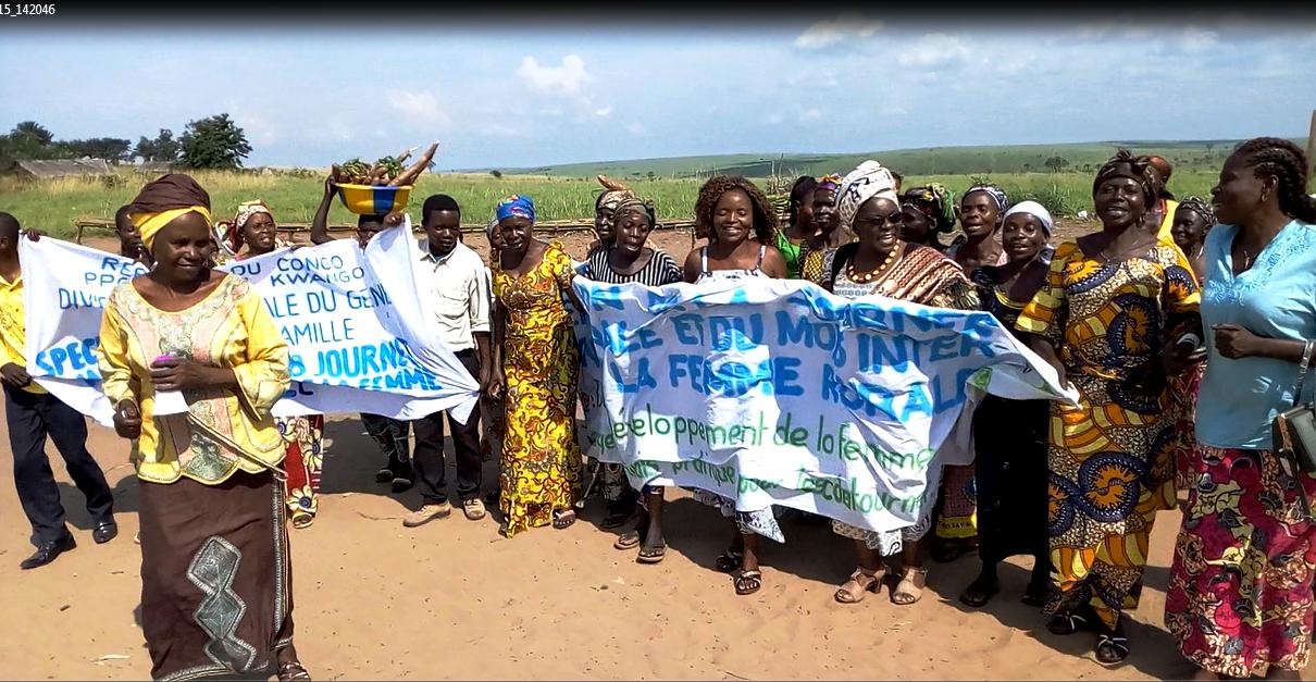Célébration de la journée internationale de la femme rurale au Kwango « l'autonomisation de la femme rurale »