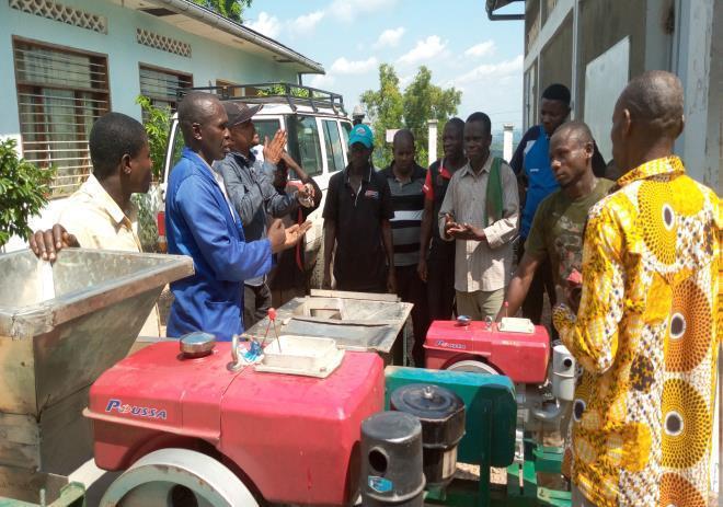 MAINTENANCE PRÉVENTIVE DES OUTILS DE TRANSFORMATION AGRICOLE : LES TECHNICIENS DU KWILU/KWANGO SONT AU POINT