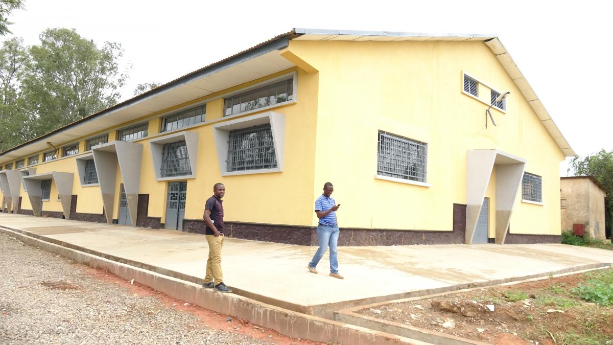 Entre-temps à Likasi... l'Institut Technique Industrielle Vyombo a été réhabilité!