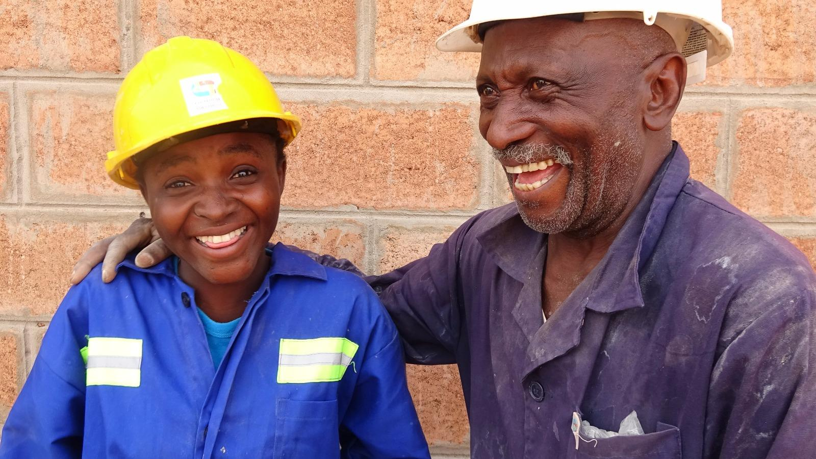 Le chantier école à Kasanga, un projet d'espoir!