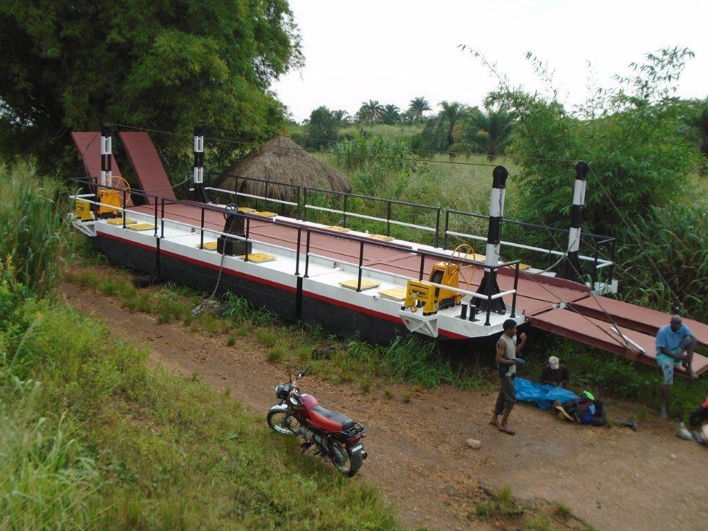 La réhabilitation du bac de Kasansa: une bouée de sauvetage pour la population