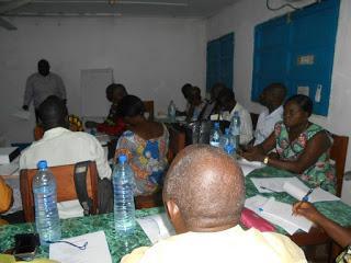 Mise en place du comité provincial ETFP Sud-Ubangi