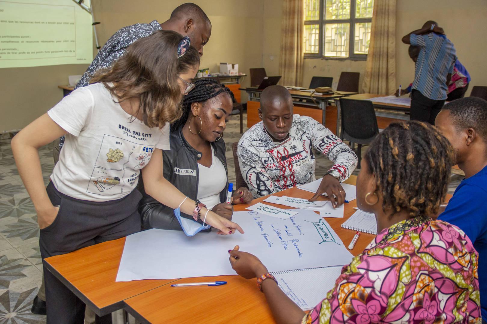 Boot Camp en entreprenariat pour 12 Jeunes de la ville de Kisangani
