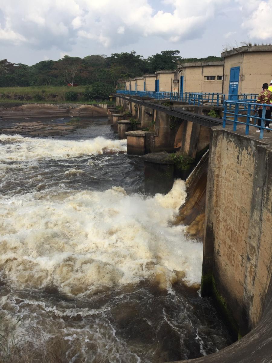 Centrale Hydroélectrique de la Tshopo : L'implication d'Enabel pour sortir la ville de l'obscurité.