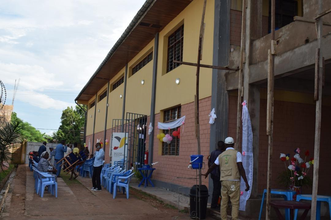 La CAMEBASU ASBL fait peau neuve grâce à un nouvel entrepôt pour la Centrale de Distribution Régionale de médicaments à Kikwit.