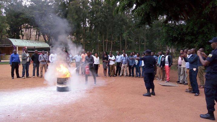 Fire safety management trainings to increase the safety of health facilities