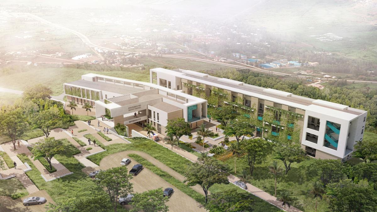Nyarugenge Hospital - Design phase completed