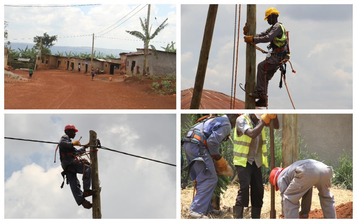 Electrification in Rwamagana