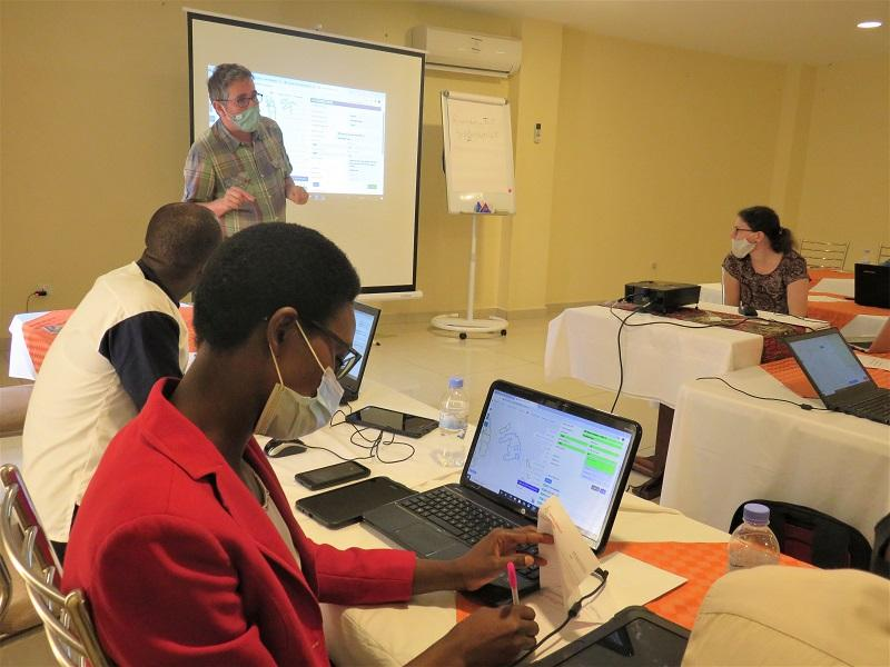 Enabel trains Forestry sector staff on a software for a better management of Rwanda's forests