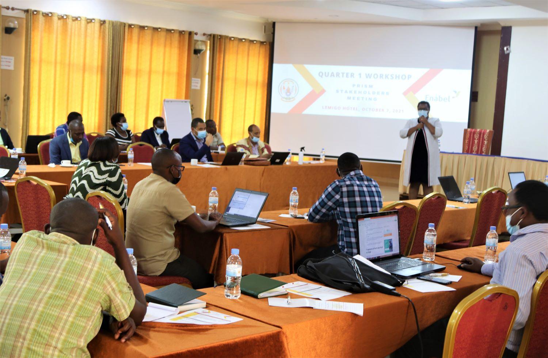 Rwanda: PRISM – Enabel Stakeholders meet to assess Quarter 1