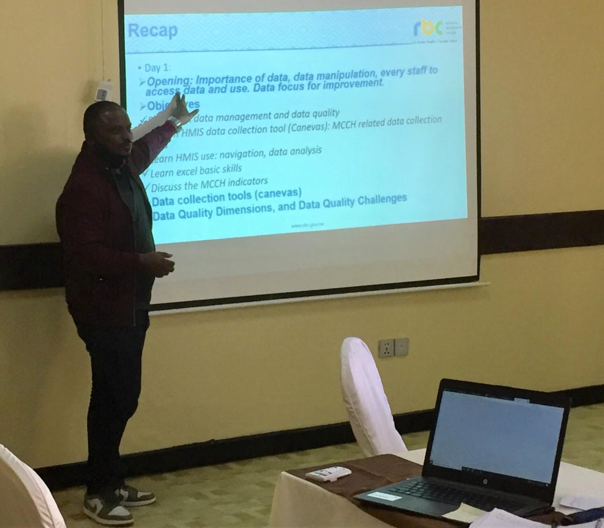 30 staff trained on Health Management Information System in Rwanda
