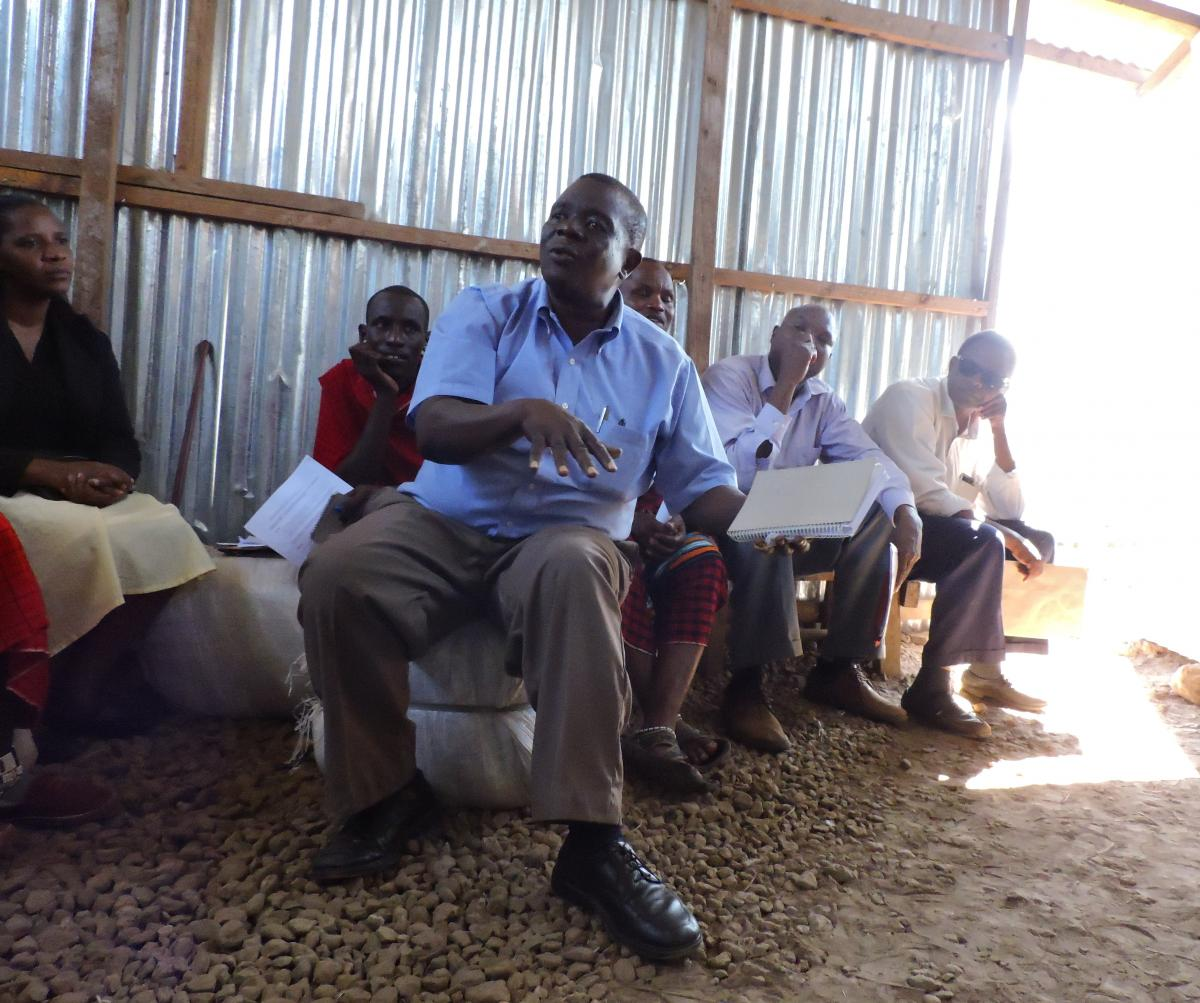 Programme brief - Village committees: crucial link between communities and programme partners
