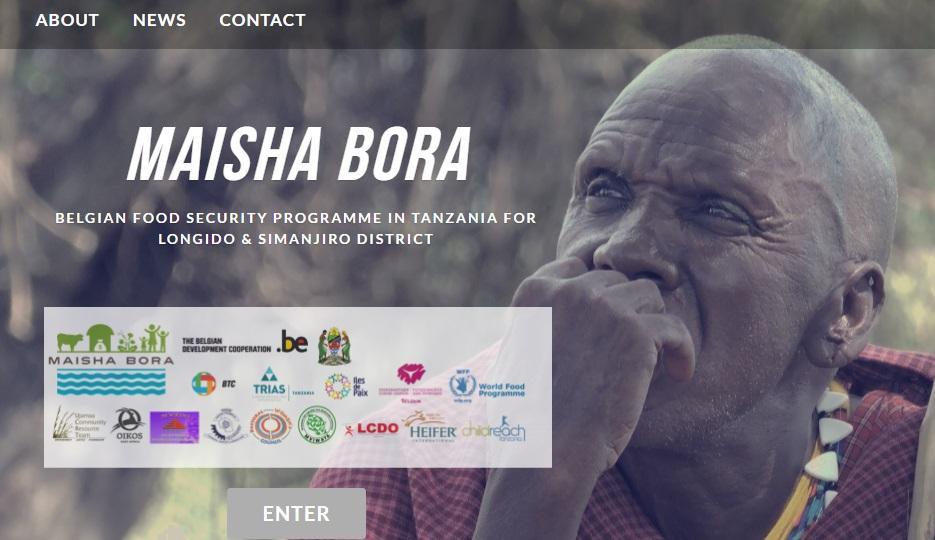 Launching our website: www.maishabora-tz.org