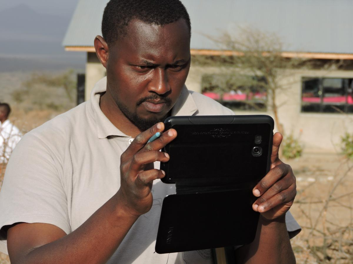 Focus on coordination: BTC introduces a mobile monitoring system in the Maisha Bora programme