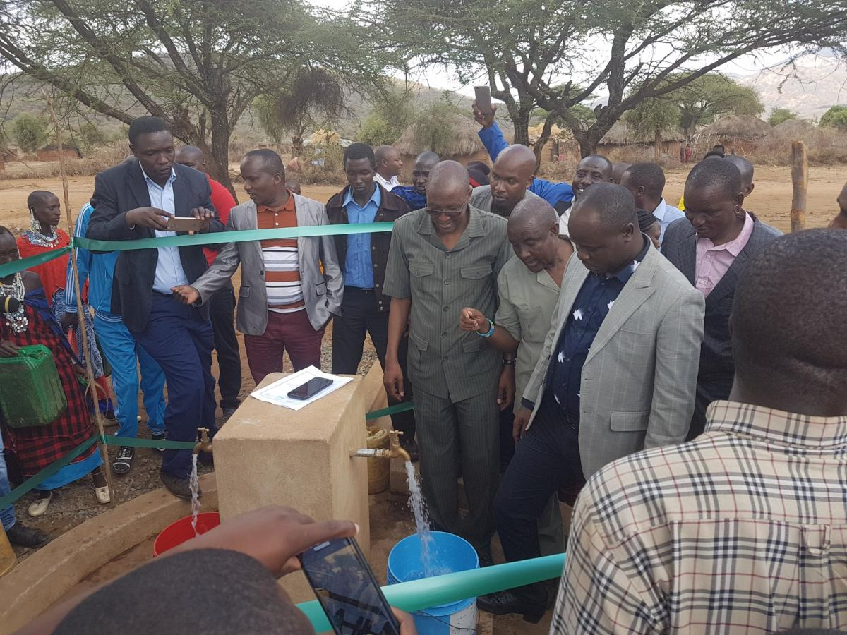 New live saving water infrastructure in Northern Tanzania