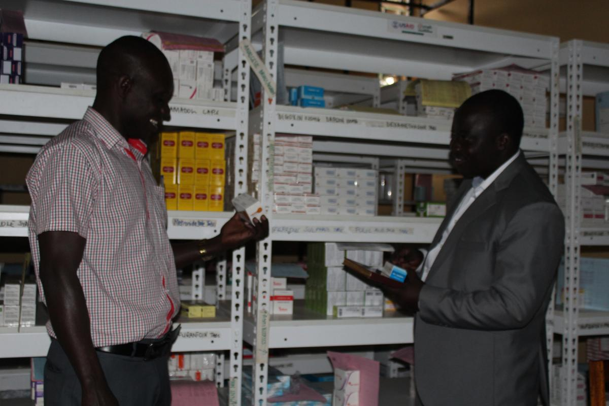 Drug stock outs a thing of the past for Holy Family Hospital Nyapea