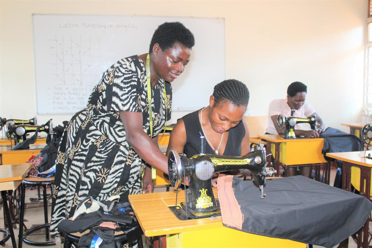 Tailoring and Garmentry training for department staff improves skills transfer