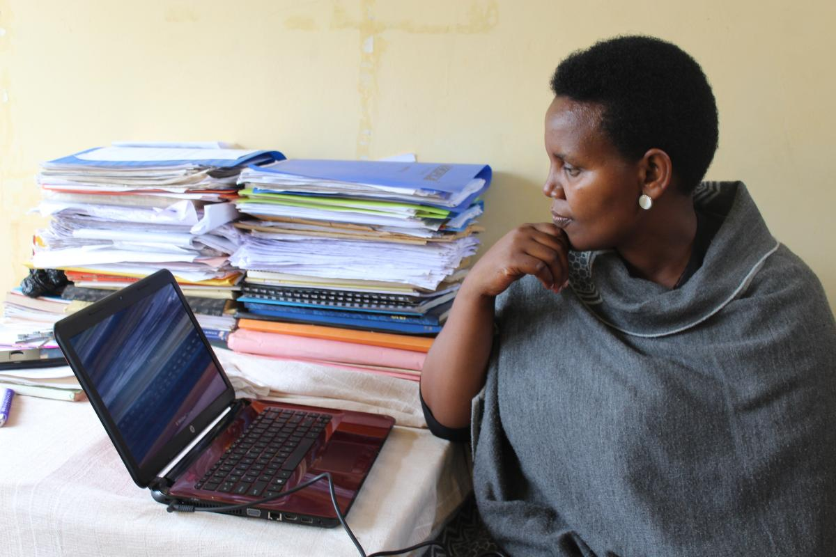 Computer training easing work at NTC Kabale