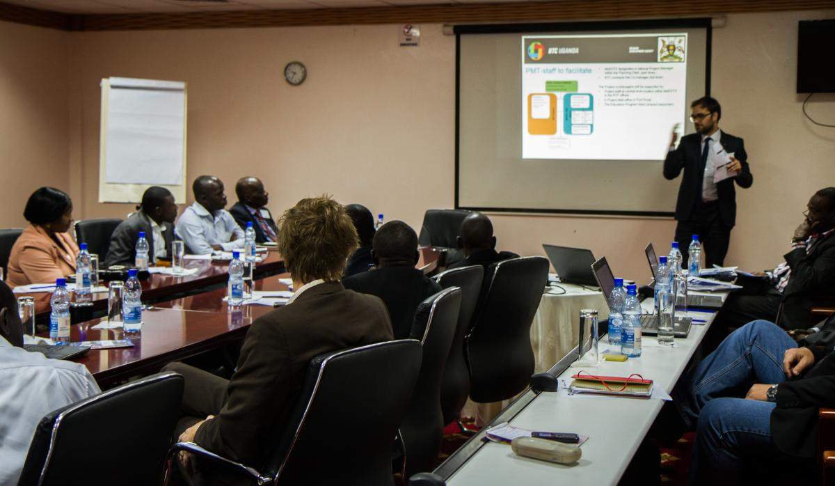 "Introducing: ""Support to the implementation of the Skilling Uganda Strategy""-intervention"