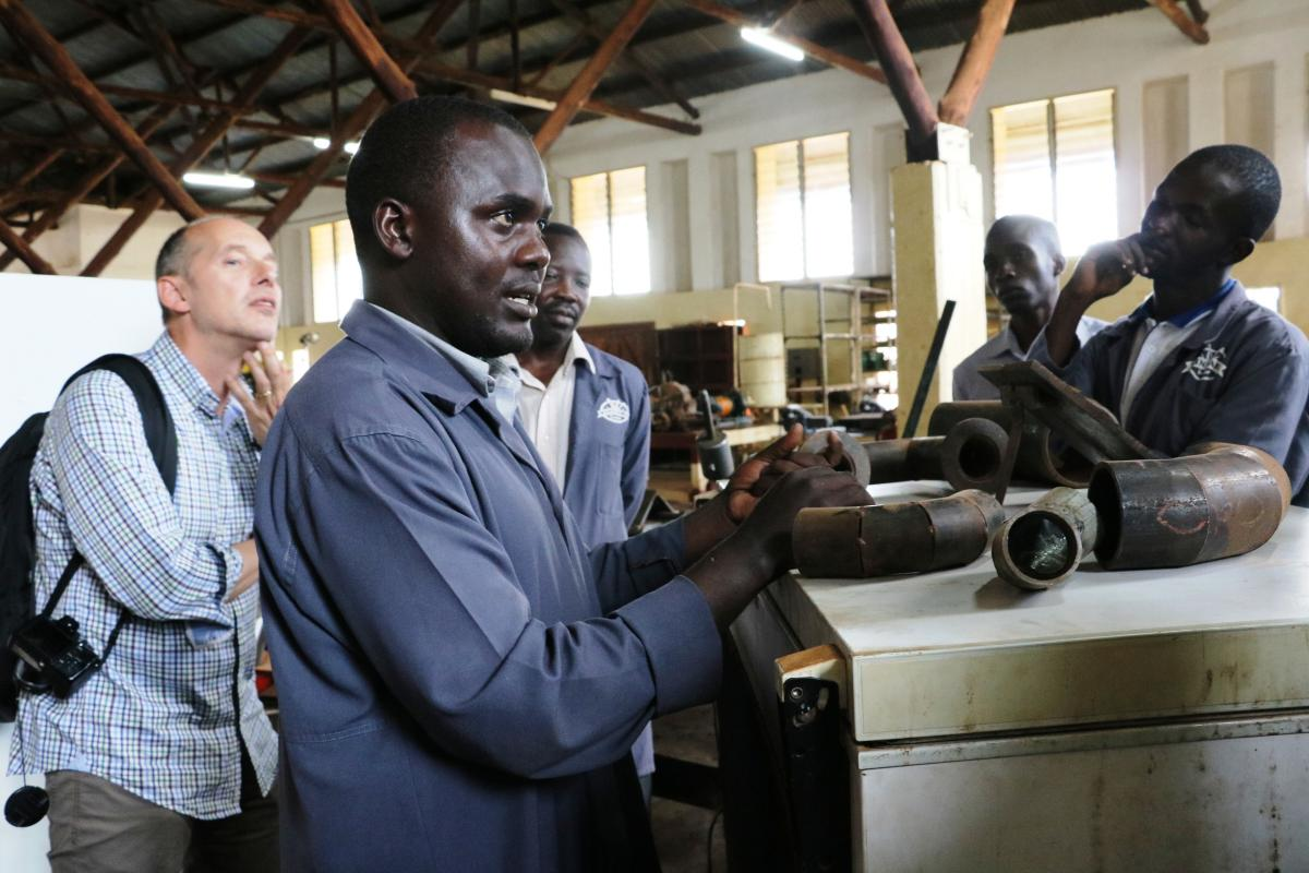 "BTC Uganda and the Flemish Employment Service partner up: ""We want to assist the Skilling Uganda project in becoming a success"""