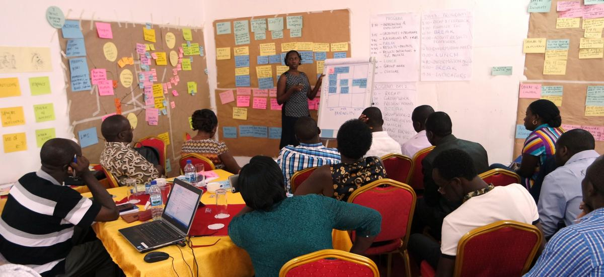 Striving for better results: Support to Skilling Uganda's Workshop on theory of change