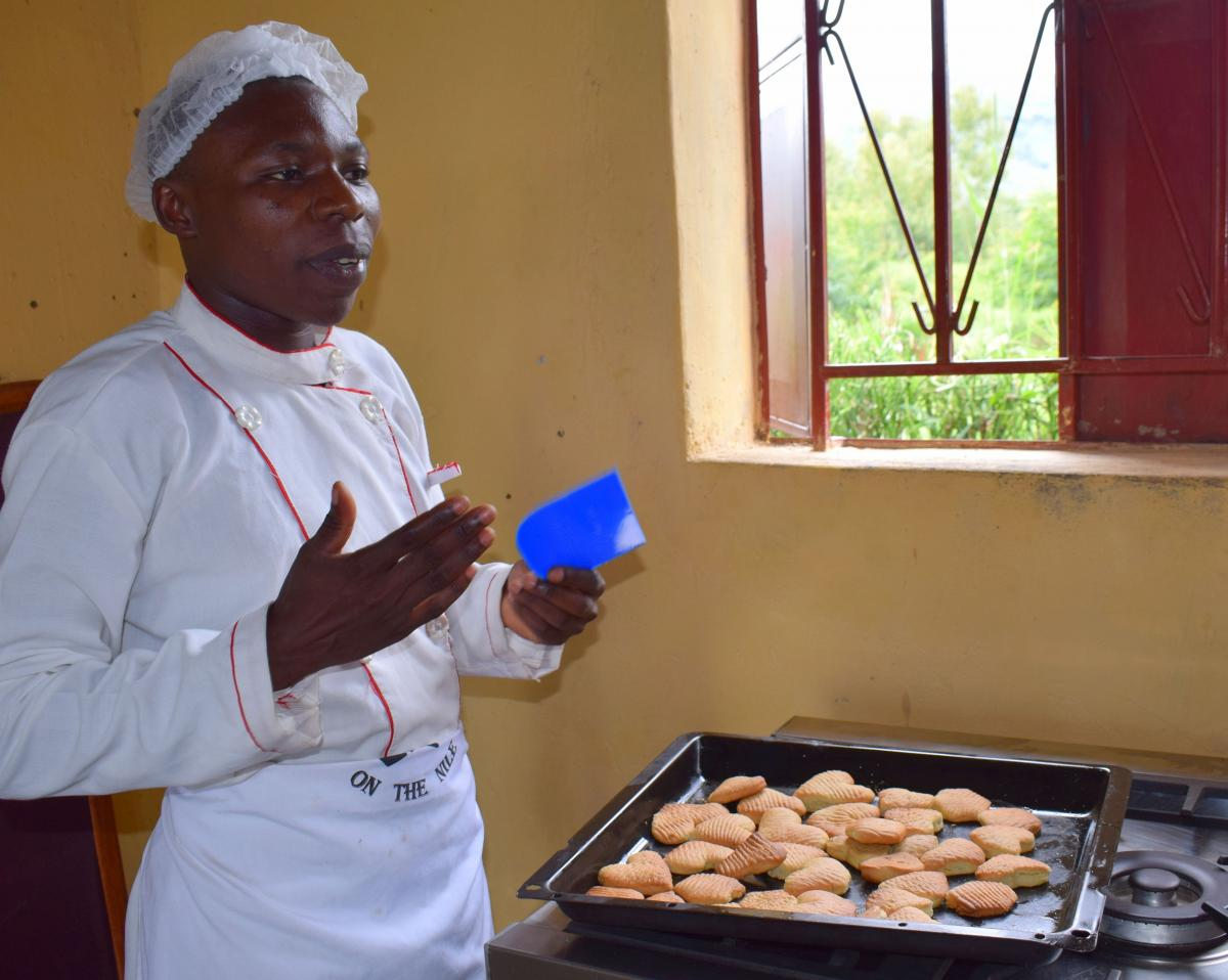 The icing on the cake:  Skills Development Fund improves bakery training .