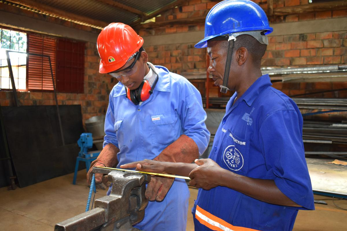 Skills Development Fund uplifts welding training