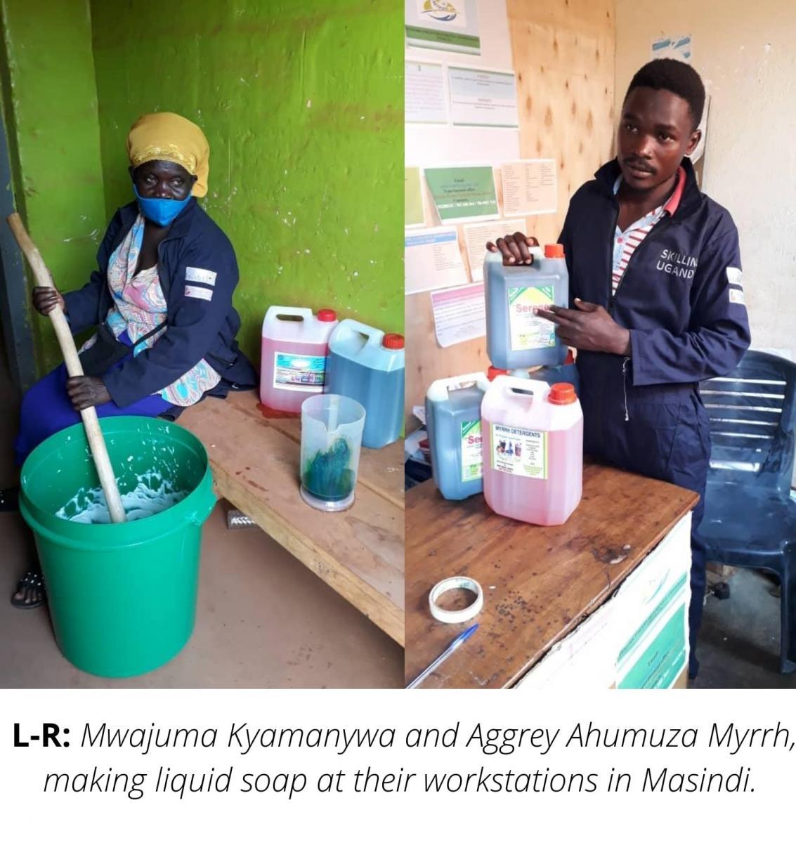 Youth reap rewards from skills training-Uganda