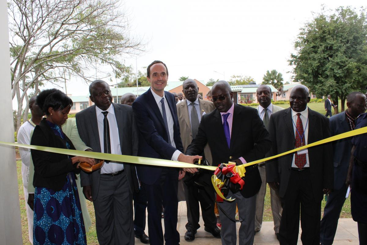 Inauguration of teachers college in Northern Uganda: a next step in the fight for quality education