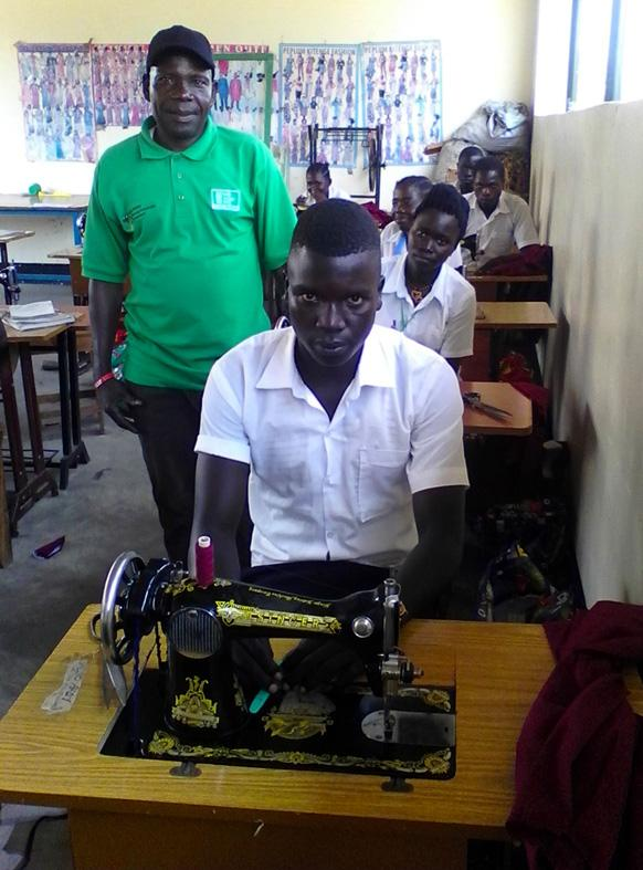 Tailoring course restores hope for young university drop-out