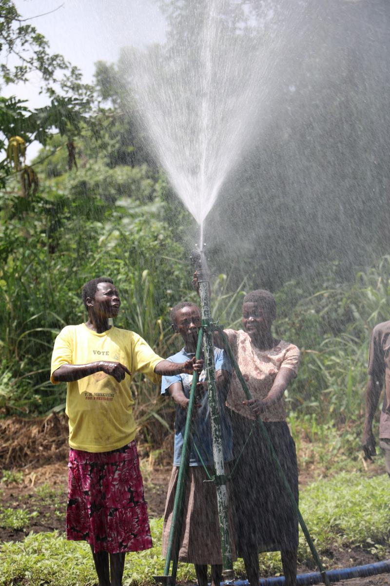 Farmer group irrigates community to life